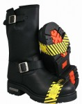 Xelement Motorcycle Steel Toe Engineer Boots 1445
