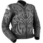 TATTOO LEATHER JACKET