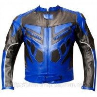 Jackets4Bikes Speed Racing Armor Leather Jacket