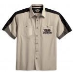 Harley-Davidson Mens Full Throttle S/S Garage Shirt 96466-10VM