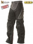 Xelement Level-3 Black Tri-Tex Motorcycle Pants B4402