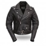 Classic Mens TOP GRADE Biker Motorcycle Jacket B7100