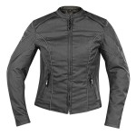 Xelement Women's Blackout Doublon Textile Jacket XS-753