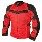 Xelement All Season Tri-Tex and Mesh Black/Red Jacket XS8161