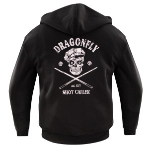 Dragonfly Roadhouse Shot Collar Hoodie