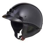 GMax GM35X Solid Half Helmet - Fully Dressed