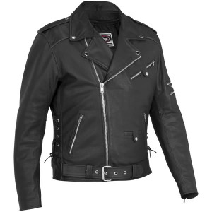 River Road Ironclad Perforated Leather Jacket