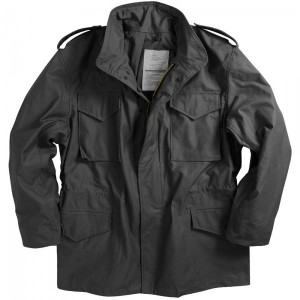M-65 FIELD COAT Black