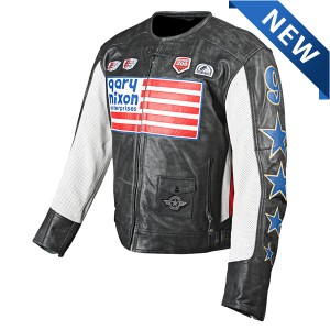 Speed And Strength Gary Nixon Replica Leather Jacket