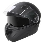 Hawk EVX 9000 Matte Black Modular Helmet