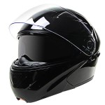 Hawk EVX 9025 Gloss Black Modular Helmet