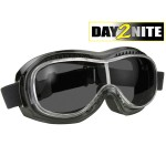 Airfoil Day2Nite Black Frame Goggles with Grey Photochromatic Lens AIRFOIL-9311