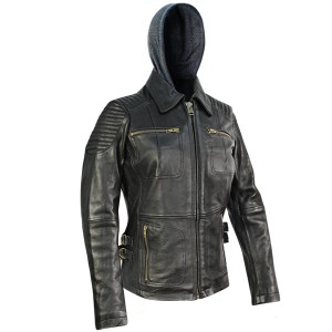 Xelement Womens Bully Leather Jacket BXU1843
