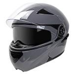 Hawk EVX 9033 Grey Modular Helmet