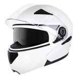 Hawk EVX 9041 White Modular Helmet