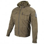 Speed and Strength Dogs Of War Hooded Textile Jacket