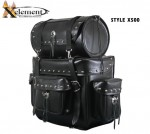 Waterproof Deluxe Motorcycle Touring Pack with Studs X500
