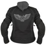 Xelement Women's Tri-Tex Grey Flying Barbwire Heart Jacket BXU3583.18
