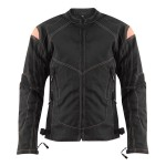 Xelement Women's Guardian Black/Pink Tri-Tex Jacket XS-123-330