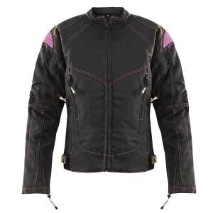 Xelement Women's Guardian Black/Purple Tri-Tex Jacket XS-123-325