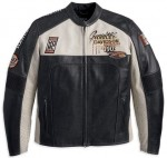 Harley-Davidson Mens Regulator Perforated Leather Jacket 97168-13VM