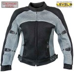 Xelement CF-507 Womens Mesh Sports Armored Motorcycle Jacket