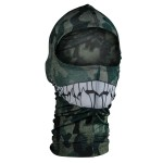 Nylon Camo Teeth Balaclava WBN072