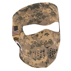 United States Army Uniform Neoprene Full Face Mask WNFM700