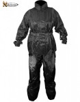 Xelement Ladies 2 Piece Black Motorcycle Rain Suit RN4762