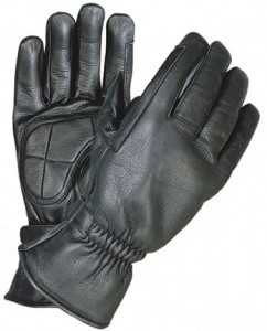 Premium Riding Leather Gloves with Gel Palms X1409