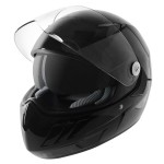 Hawk KT Series Glossy Black Full Face Helmet KT-4400