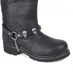 Motorcycle Skull Boot Chain BS110