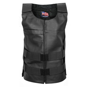 USA Leather Asylum Vest 1206