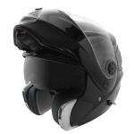 Hawk HX Series Glossy Black Modular Helmet HX-4000