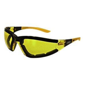 Global Vision Ruthless Yellow Sunglasses