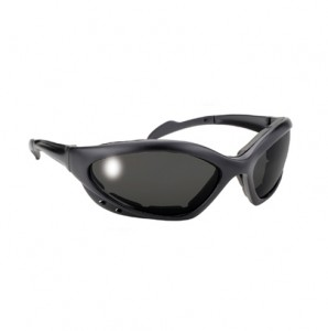 Navigator Black Sunglasses with Smoke Lens And 400 UV Protection