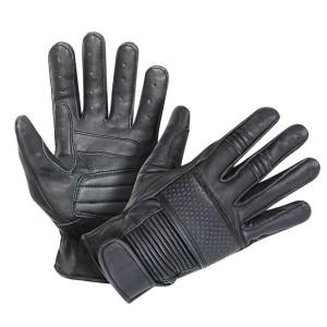 Xelement Men's Ride Black Leather Gloves UK-2650