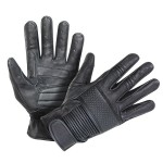 Xelement Men's Ride Black Leather Gloves UK-2650