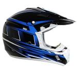 Hawk TX-12 Blue Motocross Helmet
