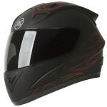 Torc T-10 Prodigy Matte Black Coupe Helmet