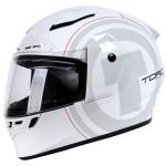Torc T-19 Phantom White Nova Helmet