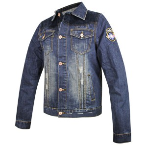 Delux Men's Vintage Blue Denim Casual Jacket RCJJ1