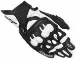 GPX LEATHER GLOVES white