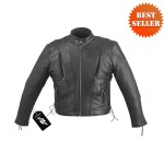 Premium Cowhide Leather Motorcycle Jacket MJ470
