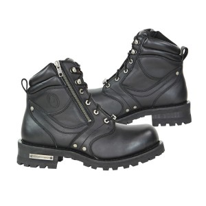 Vulcan Men's Fiery Motorcycle Boots V-114