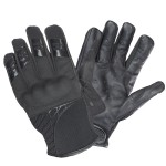 Xelement Express Mens Black Textile/Leather Gloves UK-2641