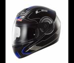 ШЛЕМ (ИНТЕГРАЛ) LS2 FF352 ROOKIE ATMOS, GLOSS BLACK BLUE