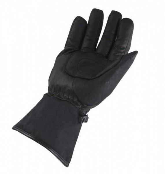 Mens Black Tri-Tex? Fabric padded/Waterproof Gloves XG-443