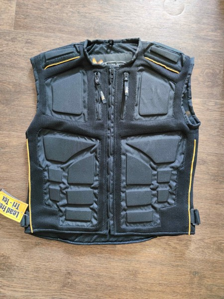 Mens Padded Vest with Tri-Tex and Mesh CF-244